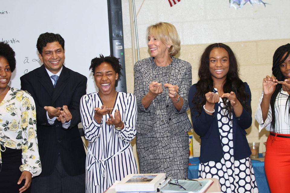 Secretary of Education Betsey DeVos