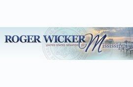 Roger Wicker US Senator Mississipi Press Release