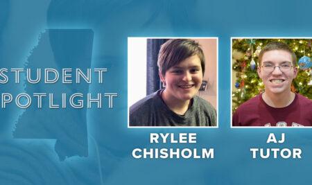 Student Spotlight: AJ Tutor and Rylee Chisholm